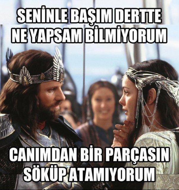 Yüzüklerin Efendisi'ne Bunu da Yaptılar, Türklerin Elinden Efsane 15 Caps - 1