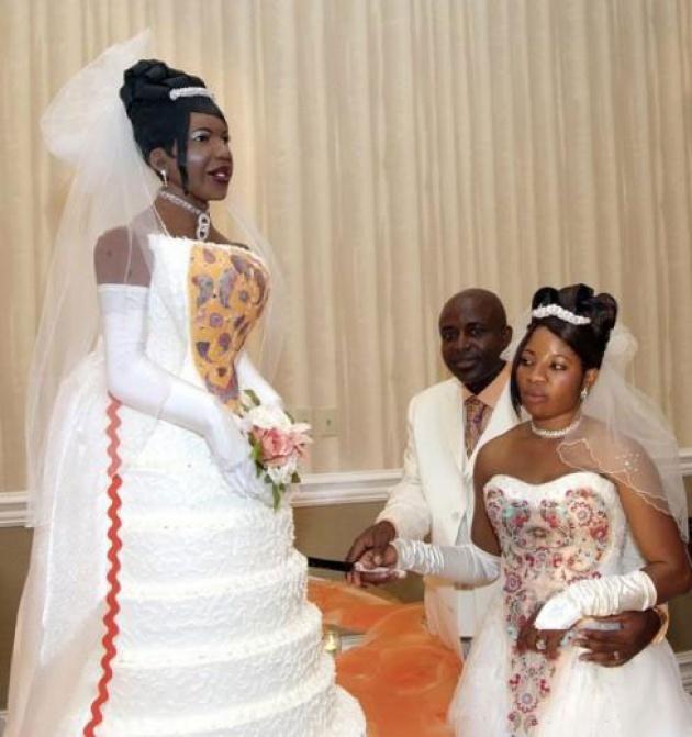 Dünya Üzerinde Eşine Az Rastlanan En Egzantirik 15 Düğün Fotoğrafı - 1