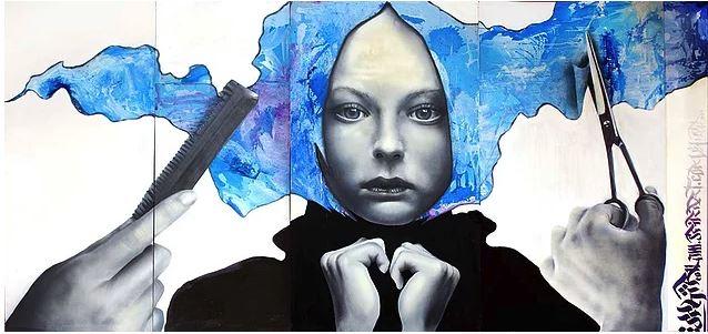 Şehri Grilikten Kurtarmak İsteyen Graffiti Sanatçısı: Sfhir - 1