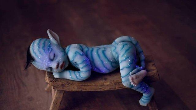 Görenleri Dumura Uğratan Avatar Bebekler Sosyal Medyayı İkiye Böldü - 1