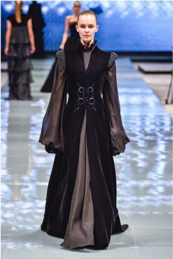 Beklenen Oldu, Arabistan'da Görmeye Alışkın Olmadığımız Moda Haftası Gerçekleşti - 1