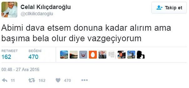 Kemal Kılıçdaroğlu'nun Sosyal Medyada Bomba Etkisi Yaratan Kardeşi Celal Kılıçdaroğlu'ndan Çarpıcı 15 Twit - 1
