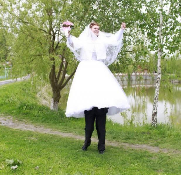 İlginç Düğün Anılarında Rusya'nın da Bizden Aşağı Olmadığını İspatlayan 15 Fotoğraf - 1