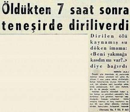 Dünden Bugüne En Enteresan Gazete Haberleri - 1
