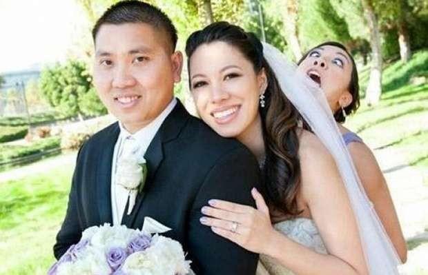 Düğün Fotoğraflarına Bodoslama Girerek Unutulmaz Anlara İmza Atan 15 Davetsiz Misafir - 1