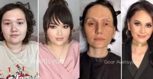 Her Kadın Güzeldir Temalı Makyajla Değişimi Gösteren Muazzam Fotoğraflar