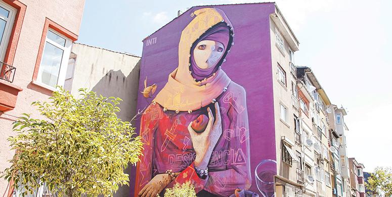 Kadıköy'e Renk Katan Mural Festivali'nden Gözlere Şenlik Resimler - 1