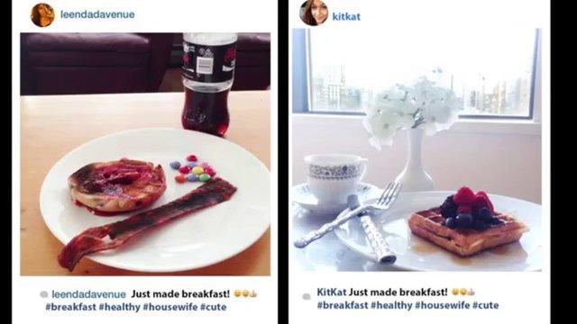 Instagram İle Gerçeğin Birbirinden Farkını Anlatan Resimler - 1