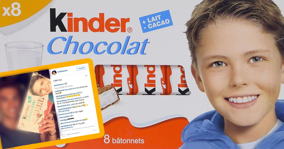 Kinder Çikolata Paketinin Üstündeki Çocuğun Son Görüntüsü - 1