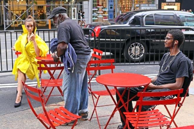 NewYork'ta İlginç İnsanlar Görenlere Yok Artık Dedirtti - 1