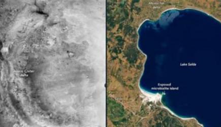 Burdur'daki Salda Gölü Mars'taki Jezero Kraterine Mi Benziyor?