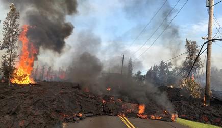 Hawaii'de Binlerce İnsan Yanardağın Felaketinden Kaçıyor