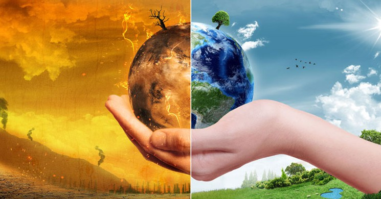 İklim Değişikliğinin Boyutlarını Gözler Önüne Seren Uydu Görüntüleri!