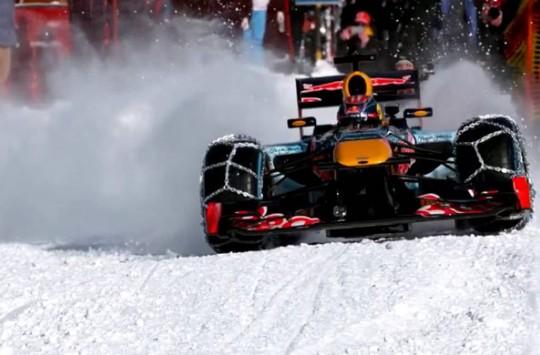 Karda Formula 1 Aracı Sürmek