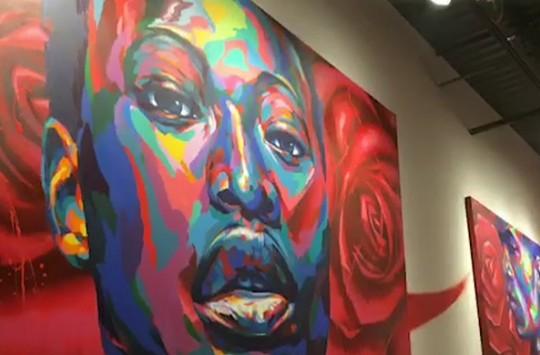 Sokak Sanatçısından Muhteşem Çalışma