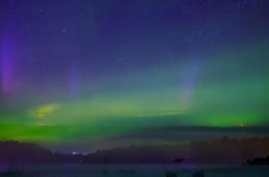 Kuzey Işıklarının Hayran Bırakan Görüntüsü