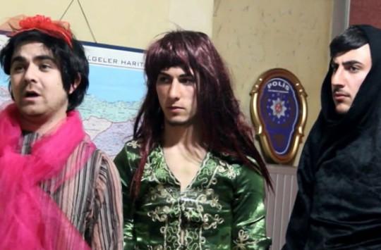 Erzurumlu Genç Grubun Başarılı Kolpaçino Taklidi