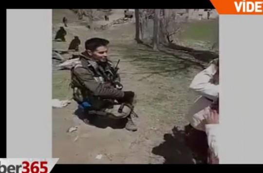 Türk Askeri Böyle Görüntülendi!