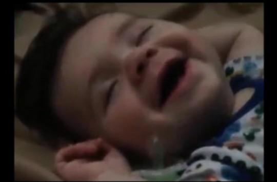 Dünyanın En Güzel Rüyasını Gören Sevimli Bebek