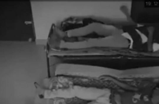 Uyuyan Adamı Amuda Kaldıran Hayalet Görüntülendi